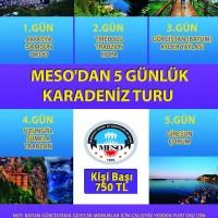 MESO'DAN KARADENİZ TURU