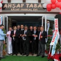 MESO Başkanı Çelik Ahşap Tabak'ın açılışına katıldı