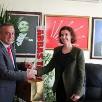 MESO Yönetiminden CHP İlçe Teşkilatına Hayırlı olsun ziyareti