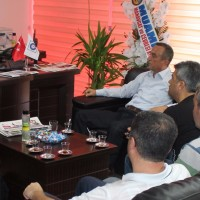 MESO İbrahim Büküş'e ziyaret