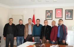 MESO Yönetiminden AKP İlçe Teşkilatına ziyaret.