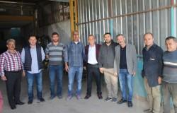MESO Yönetiminden Sanayi Esnafına Ziyaret