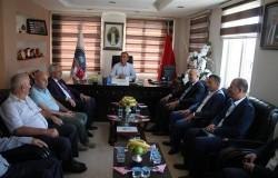 Mevlüt Çavuşoğlu MESO'yu ziyaret etti