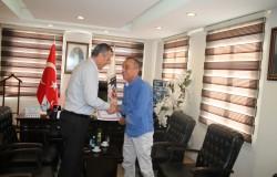 Manavgat Kaymakamı Nazmı Günlü'den Veda Ziyareti