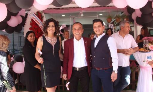 MESO Başkanı Hasan Çelik Elegance Çiçek Tasarım Evi Açılışını Gerçekleştirdi