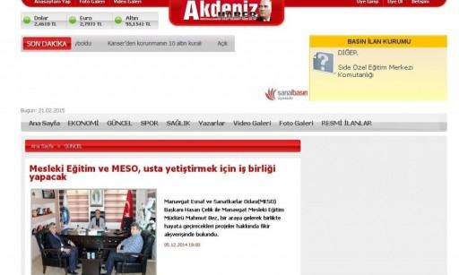 Basında MESO