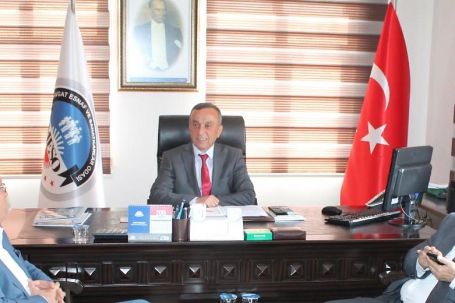Antalya Bağımsız Milletvekili Adayı Hasan Subaşı'dan MESO'ya ziyaret