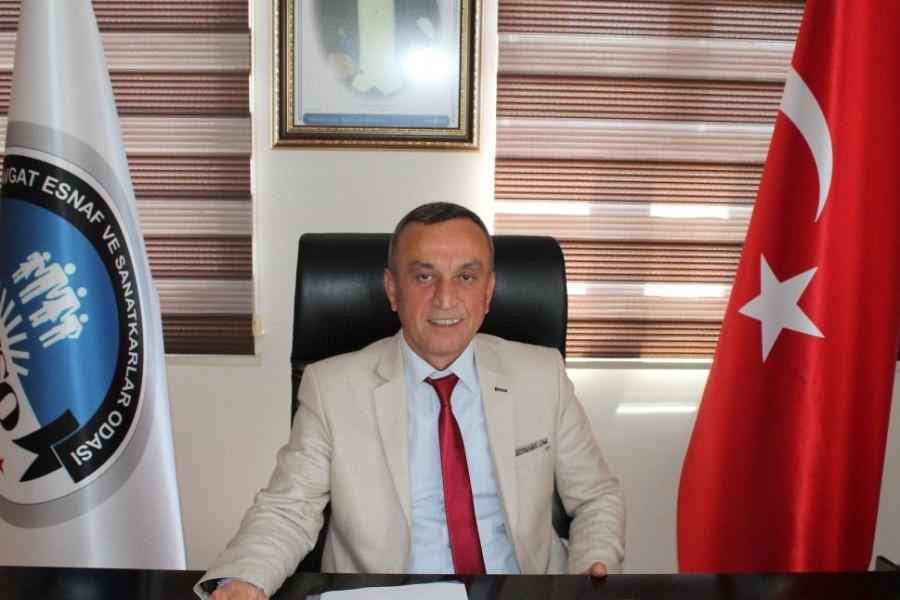 MESO Başkanı Hasan Çelik'ten Bayram Mesajı