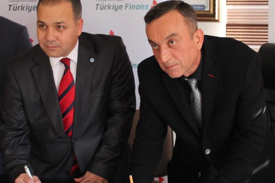 Türkiye Finans İle Protokol Anlaşmamız